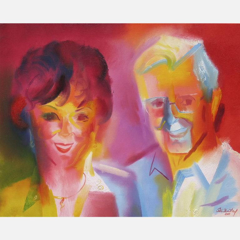 Jack & Nancy Weiss. 2011 by Stephen B. Whatley