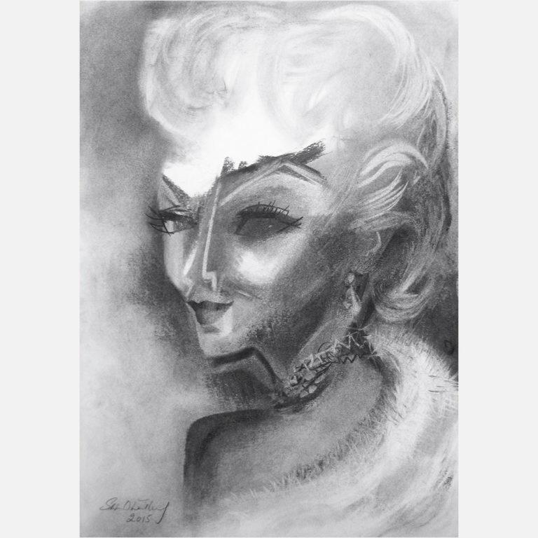 Lana Turner (1921-1995) 20th Anniversary Tribute. 2015 by Stephen B. Whatley