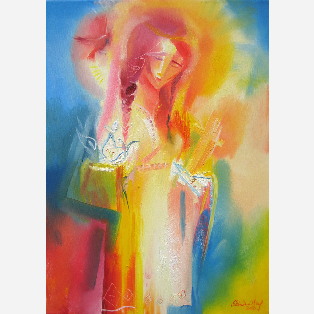 Saint Kateri Tekakwitha. 2012 by Stephen B. Whatley