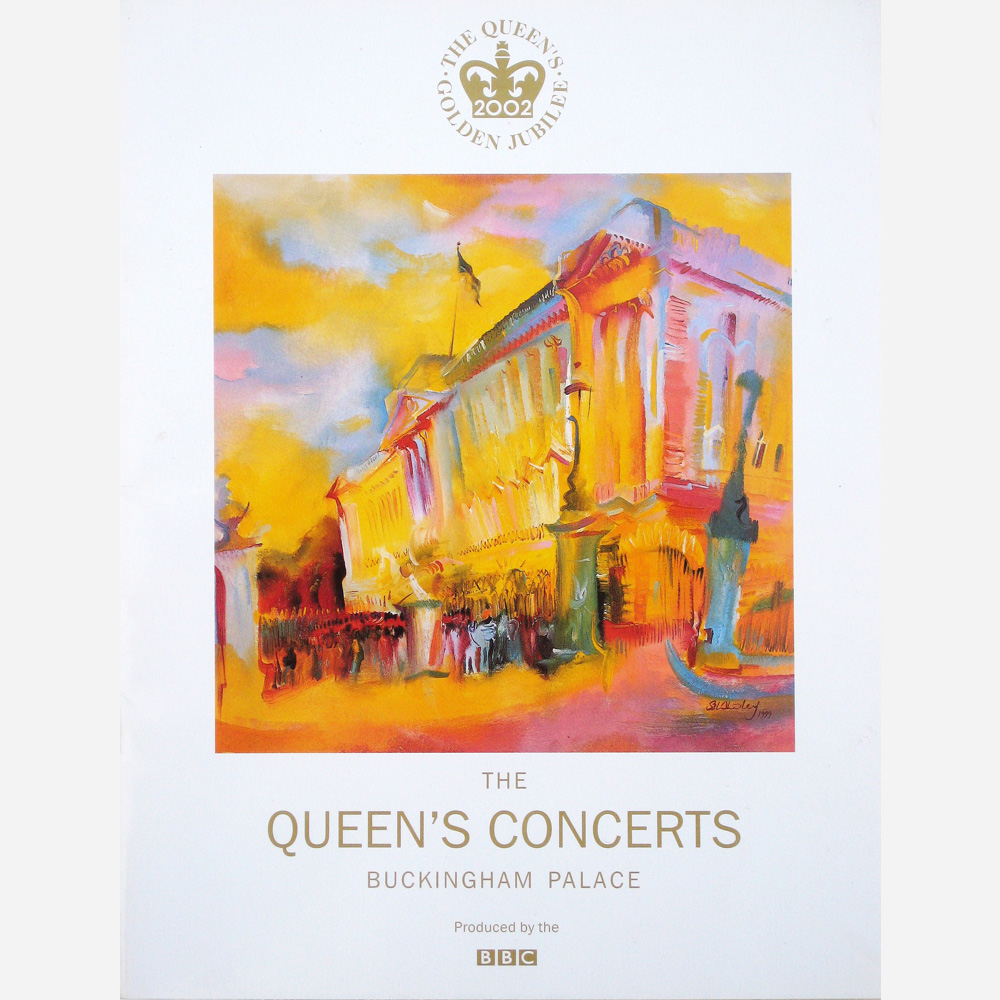 Buckingham Palace by Stephen B. Whatley (The Royal Collection)- BBC Programme 2002