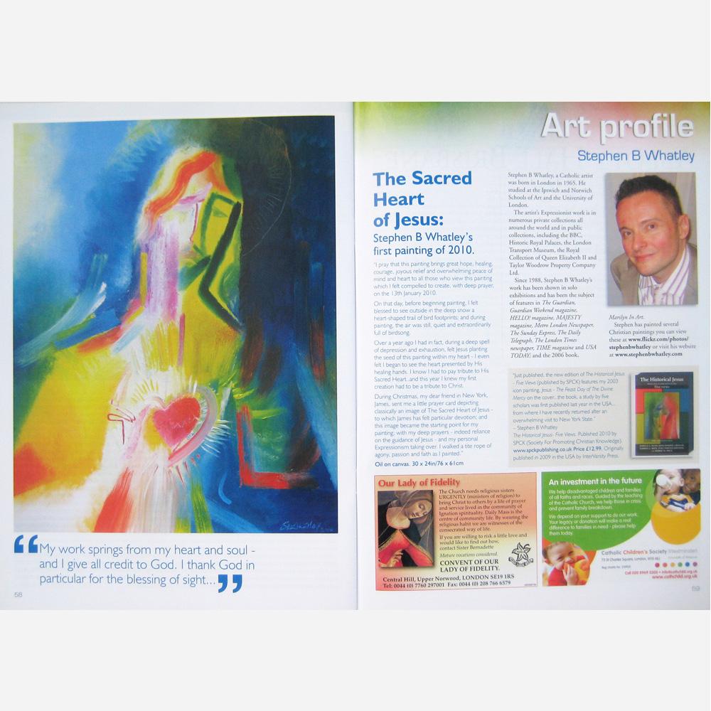 Stephen B. Whatley feature - Catholic Life magazine - June 2010
