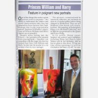 Stephen B. Whatley in HELLO! magazine- October 2008