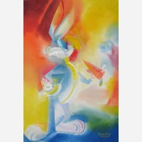 Bugs Bunny - 4th July Tribute. 2014 by Stephen B. Whatley