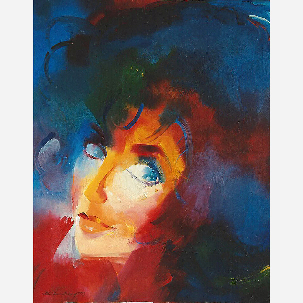 Elizabeth Taylor. 1993 by Stephen B. Whatley