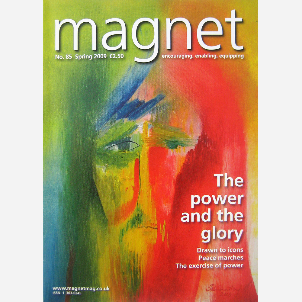 Stephen B. Whatley work- cover of Magnet magazine. Spring 2009