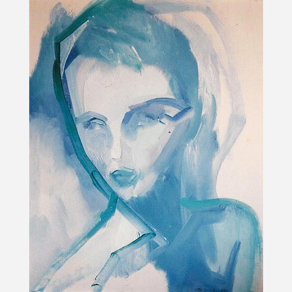 Jean Seberg. 1991 by Stephen B. Whatley