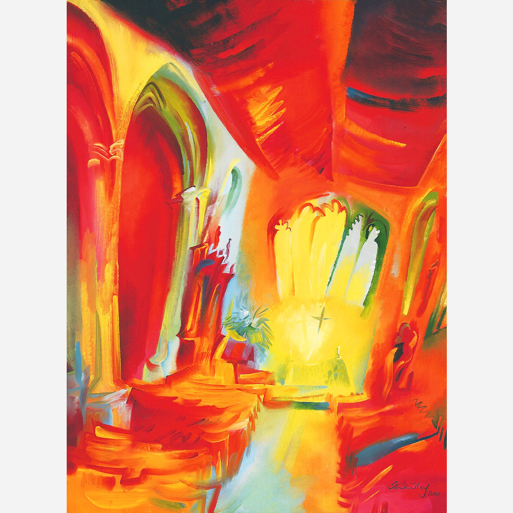 The Chapel Royal of St Peter Ad Vincular- Interior. 2000 by Stephen B. Whatley