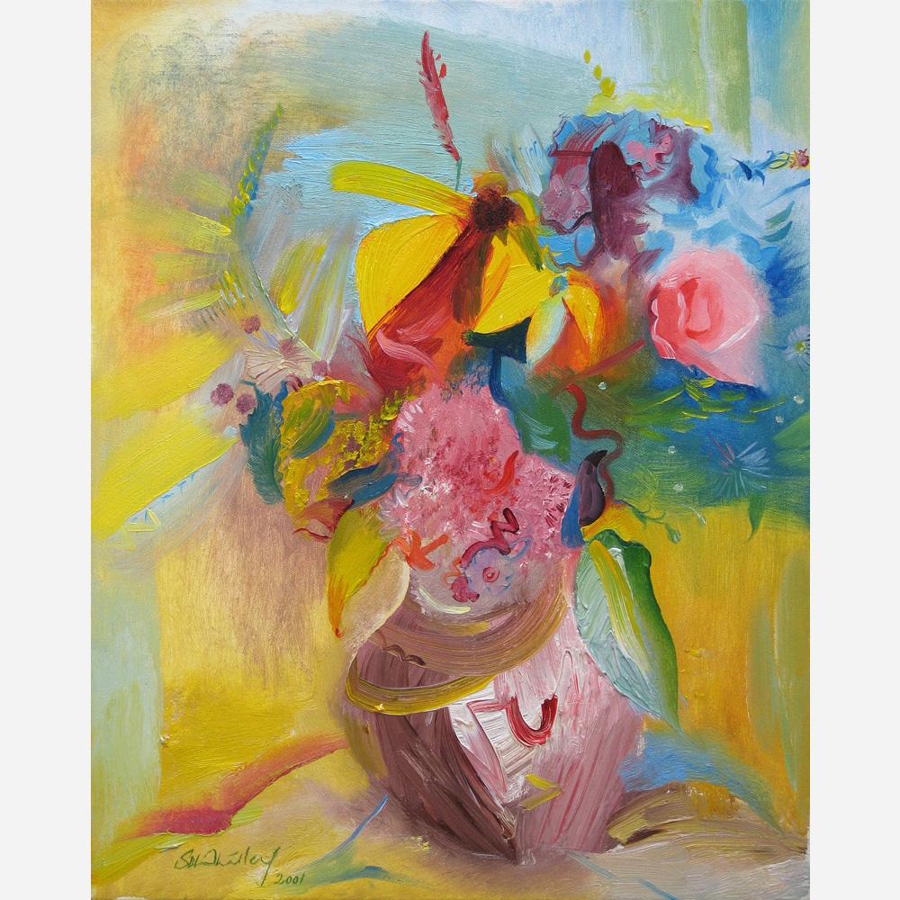 Garden Flowers From Pru. 2001 by Stephen B. Whatley