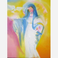 Holy Peace - Solemnity of The Blessed Virgin Mary Mary. 2015 by Stephen B. Whatley