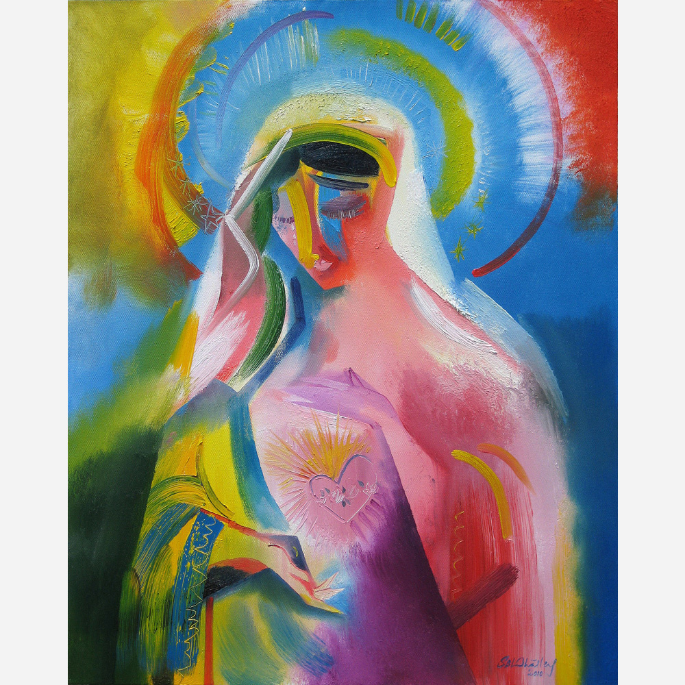 The Immaculate Heart of Mary. 2010, by Stephen B. Whatley