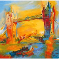 Tower Bridge. 2000 by Stephen B. Whatley