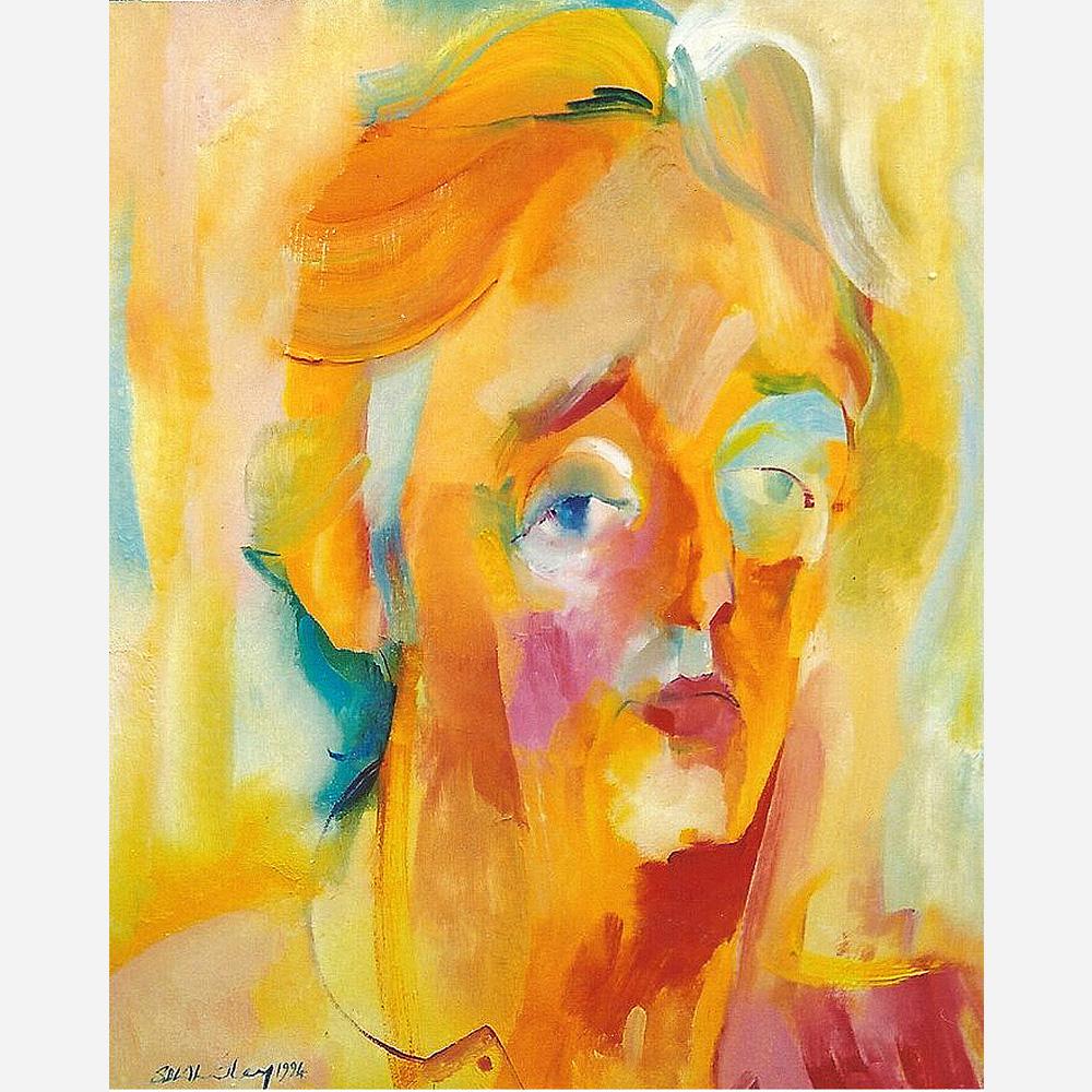 Michael Mansfield QC. 1994 by Stephen B. Whatley