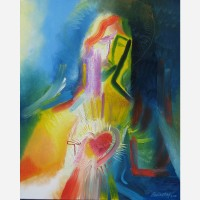 The Sacred Heart of Jesus. 2010, by Stephen B. Whatley