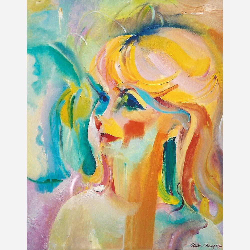 Susan Hampshire OBE 1994 by Stephen B. Whatley