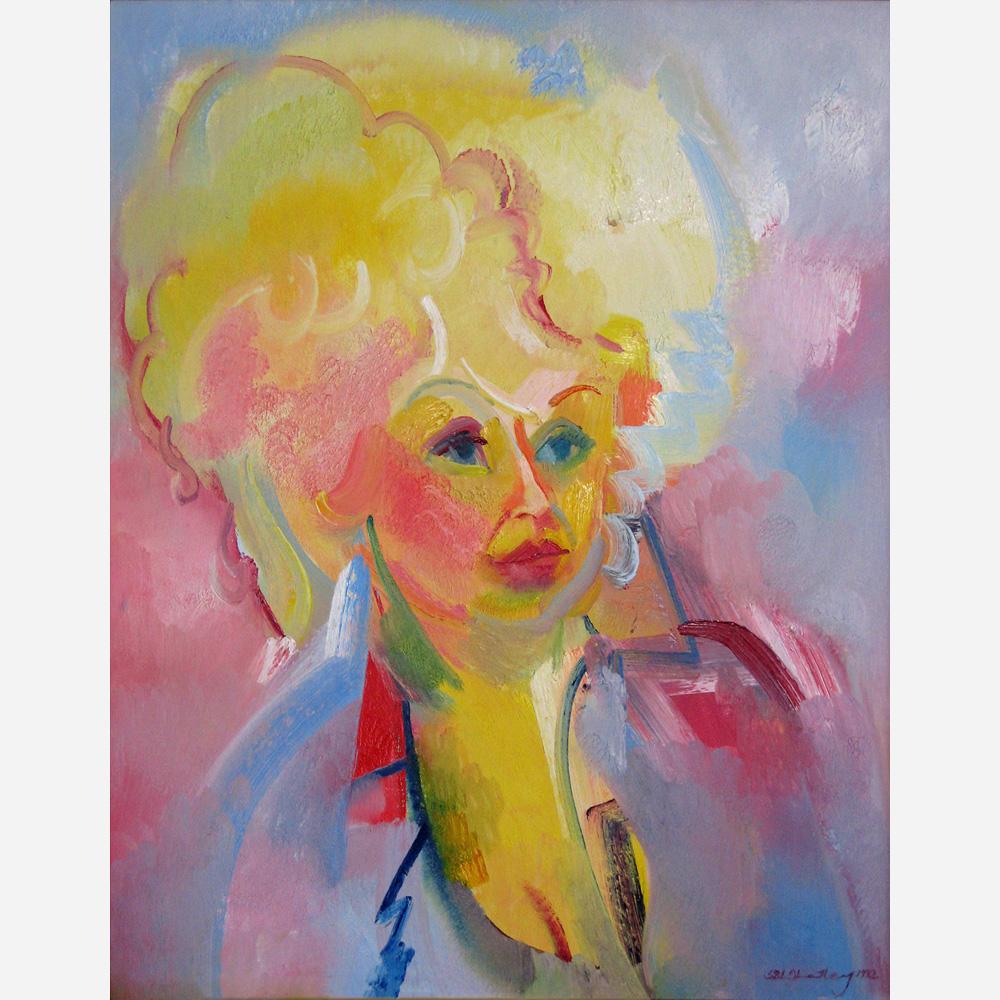 Barbara Windsor MBE. 1992 by Stephen B. Whatley
