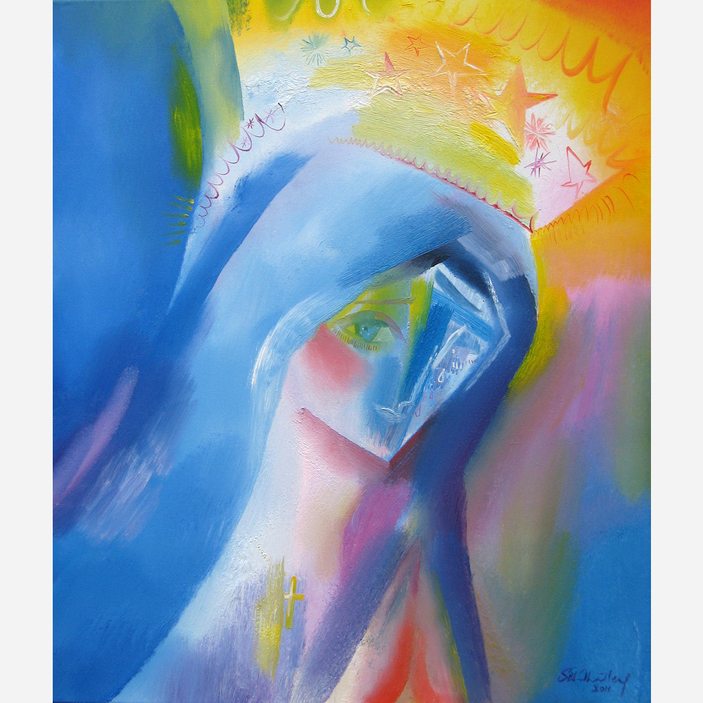 Our Lady, Queen of Peace. 2011 by Stephen B. Whatley
