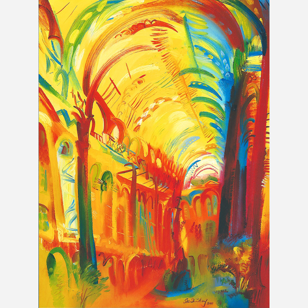 Hay's Galleria. 2000 by Stephen B. Whatley