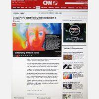Elizabeth II Tribute by Stephen B Whatley on CNN. June 2012