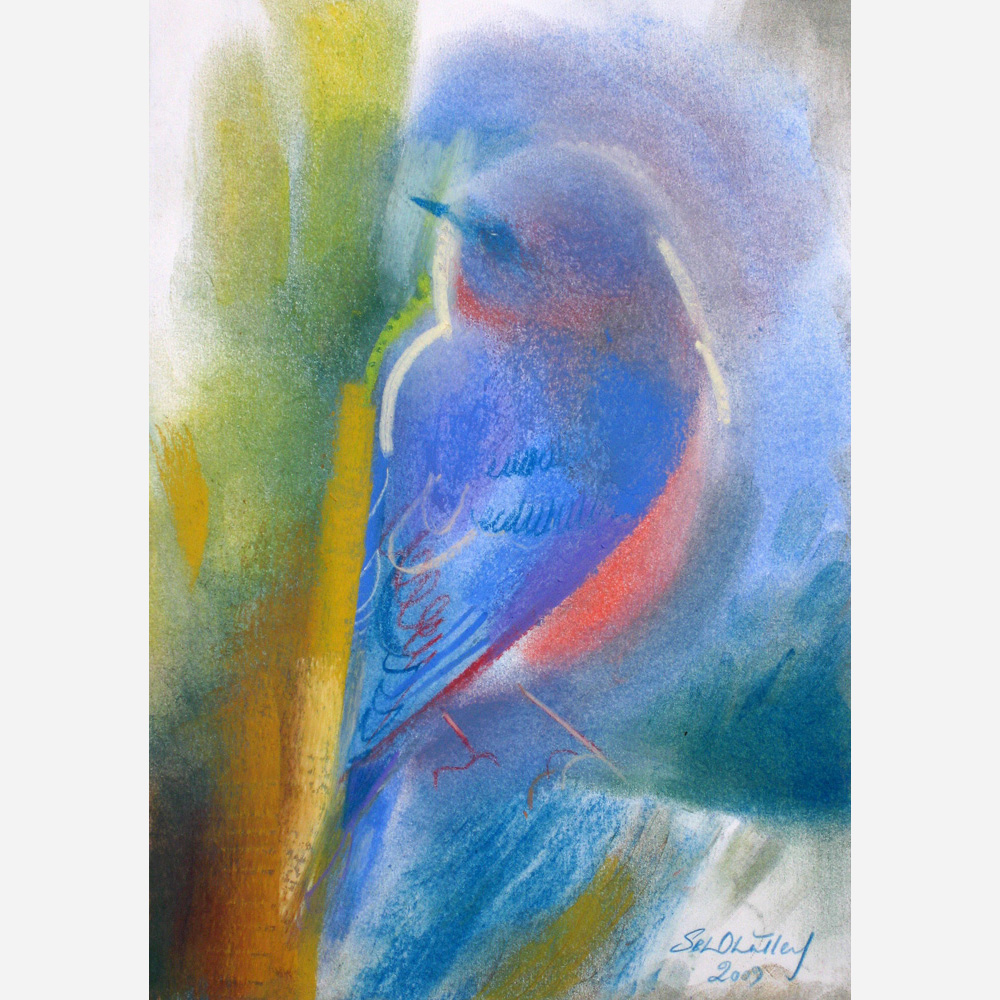 Bluebird of Hope. 2009, by Stephen B. Whatley