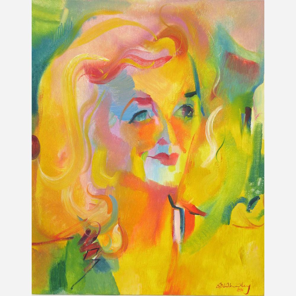 Lady Pamela Aiken. 1996, by Stephen B. Whatley
