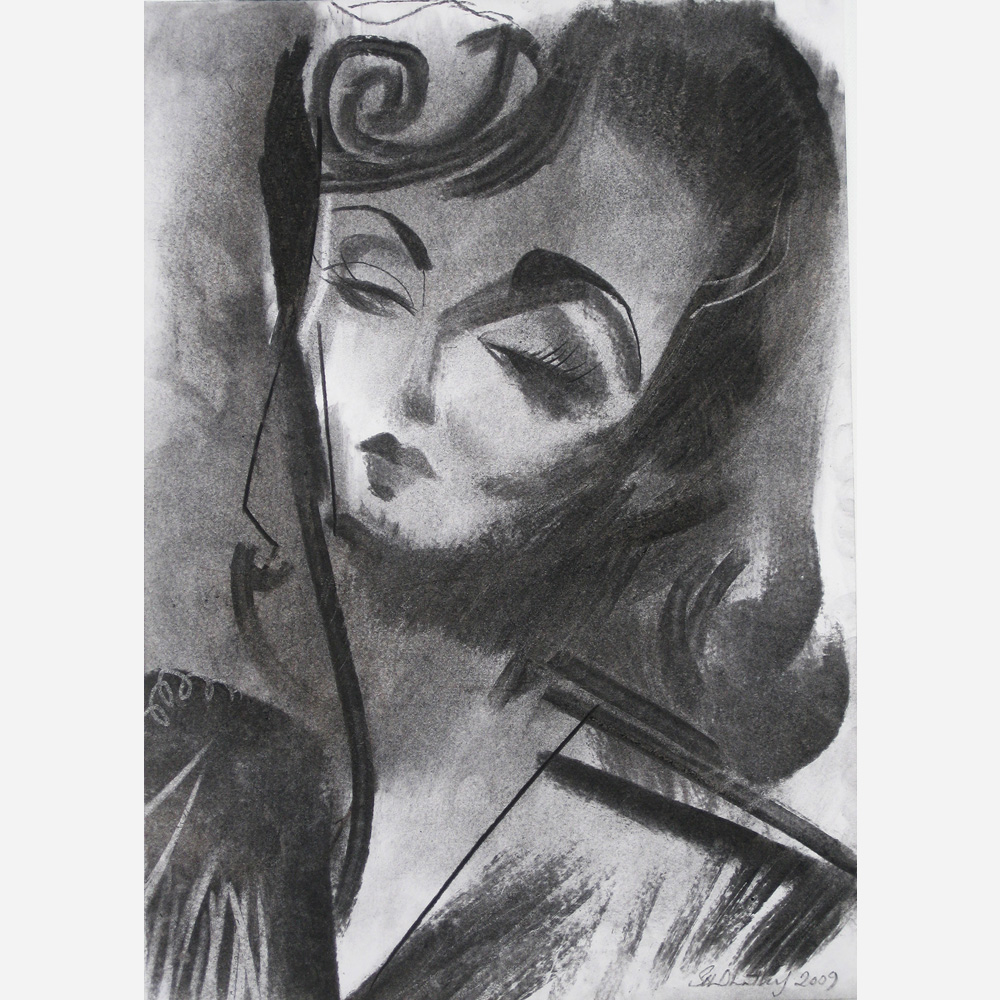 Ida Lupino. 2009, by Stephen B. Whatley