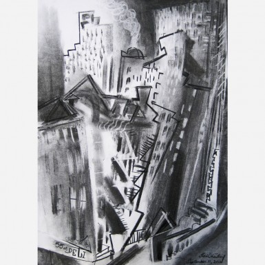 New York City, 9/11. September 11, 2011, by Stephen B. Whatley