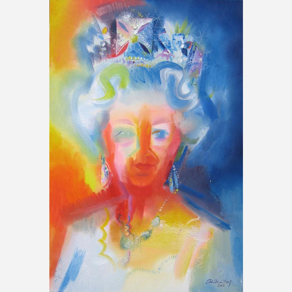 Elizabeth II - Diamond Jubilee Tribute. 2012, by Stephen B Whatley