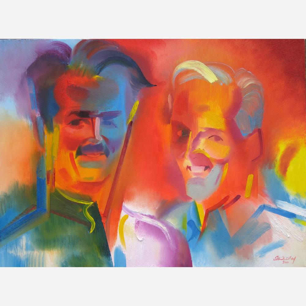 Steve & Randy. 2010, by Stephen B. Whatley