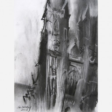 Westminster Abbey No. 1. 2002, by Stephen B. Whatley