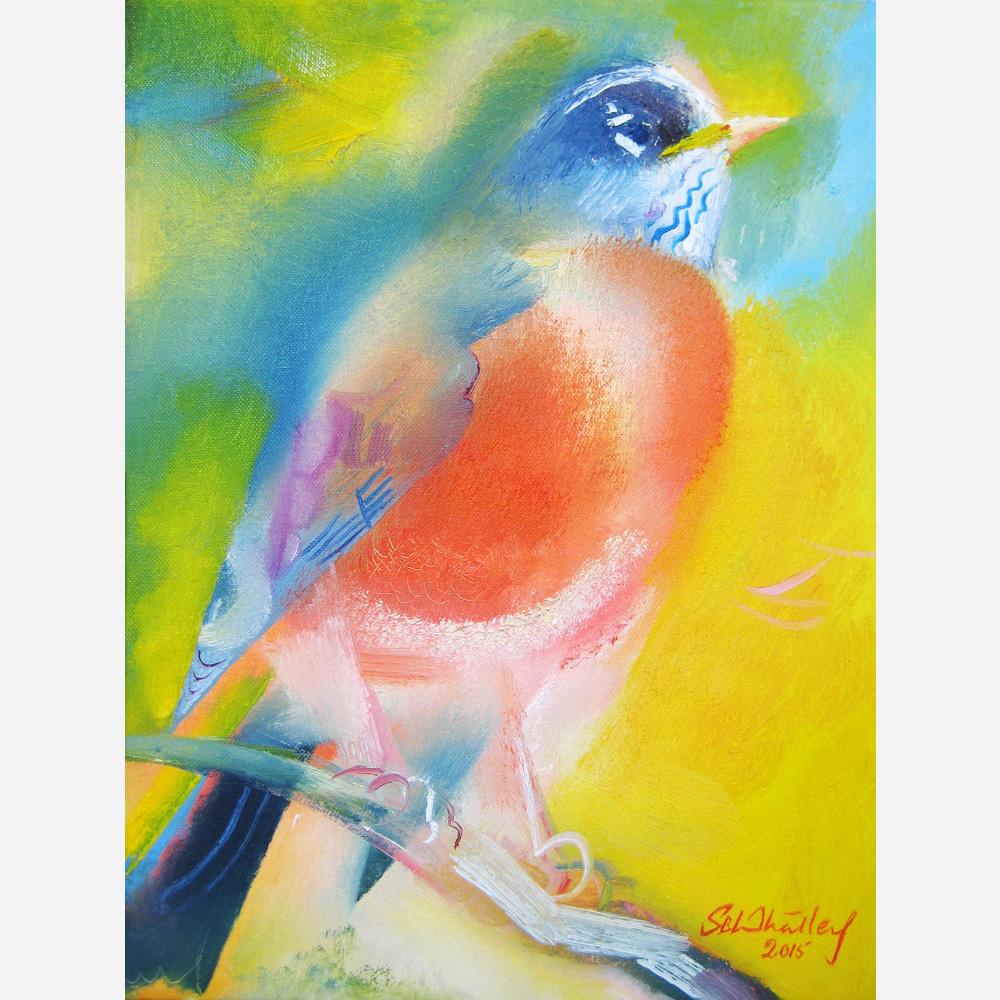 America's Robin. 2015, by Stephen B. Whatley