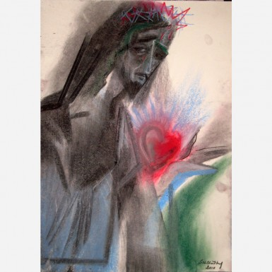 The Heart of Jesus - Advent, 2010. by Stephen B. Whatley