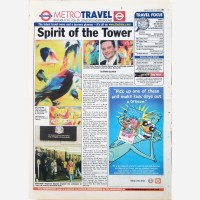 Tower of London commission by Stephen B Whatley - Metro 2001