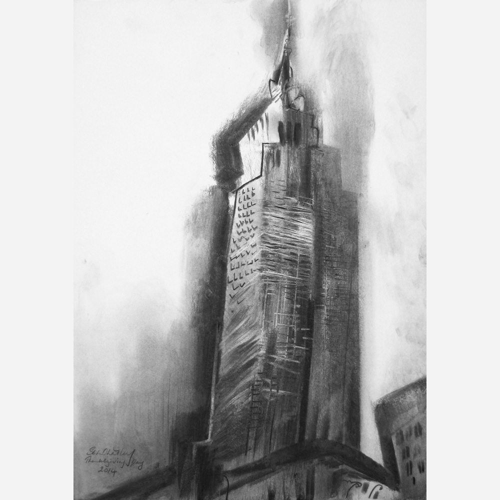 Empire State Building, New York . 2014 by Stephen B. Whatley