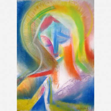 Our Lady of Mental Peace. 2013, by Stephen B. Whatley
