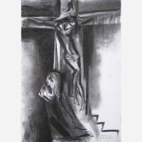 Good Friday - The Agony of Mary. 2011, by Stephen B. Whatley