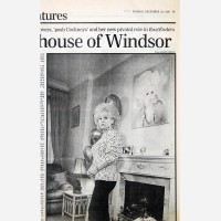 Barbara Windsor by Stephen B. Whatley - Daily Telegraph 1996