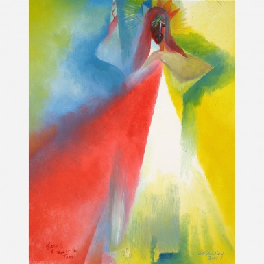 Image of Divine Mercy. 2007, by Stephen B. Whatley