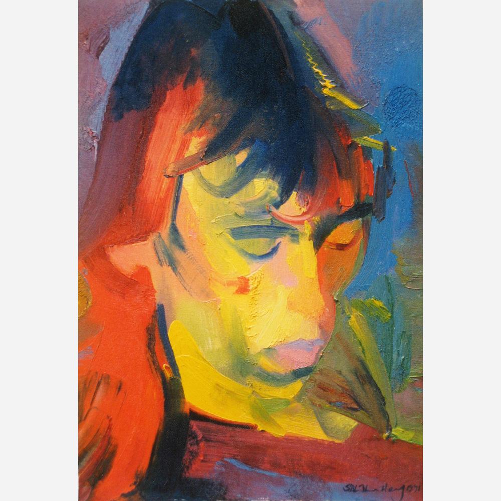 Steve Luckett. 1991, by Stephen B. Whatley