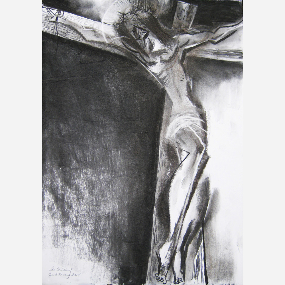 At The Foot of The Cross. Good Friday. 2015, by Stephen B. Whatley