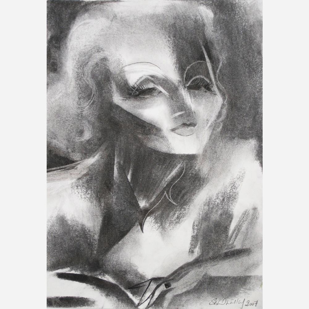 Marlene Dietrich (1901-1992) 2007 by Stephen B. Whatley