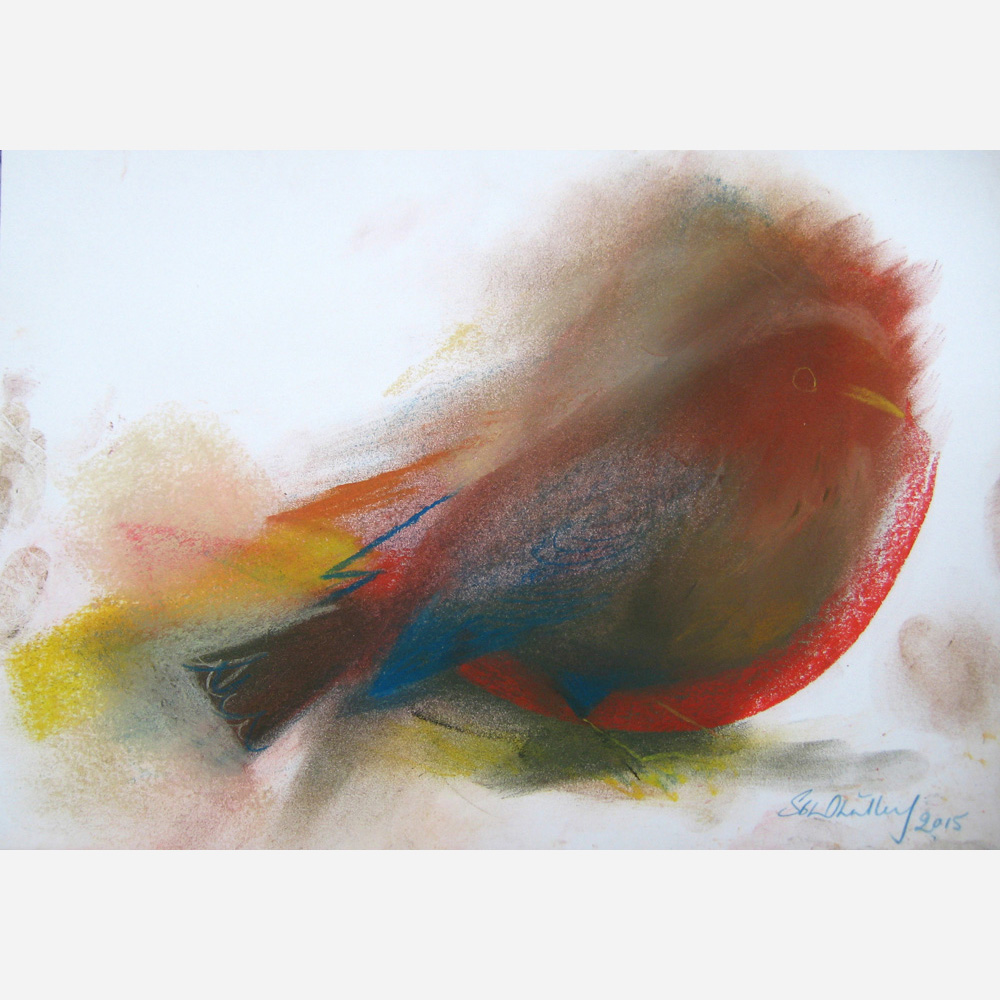 Mother Blackbird. 2015 by Stephen B. Whatley
