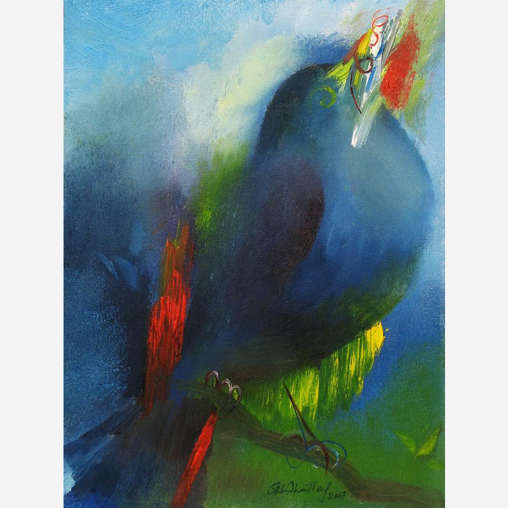 Blackbird Melody. 2008, by Stephen B. Whatley