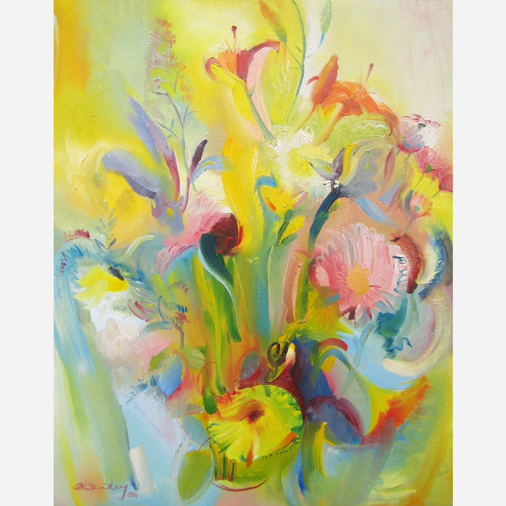 November Flowers. 1994 by Stephen B. Whatley