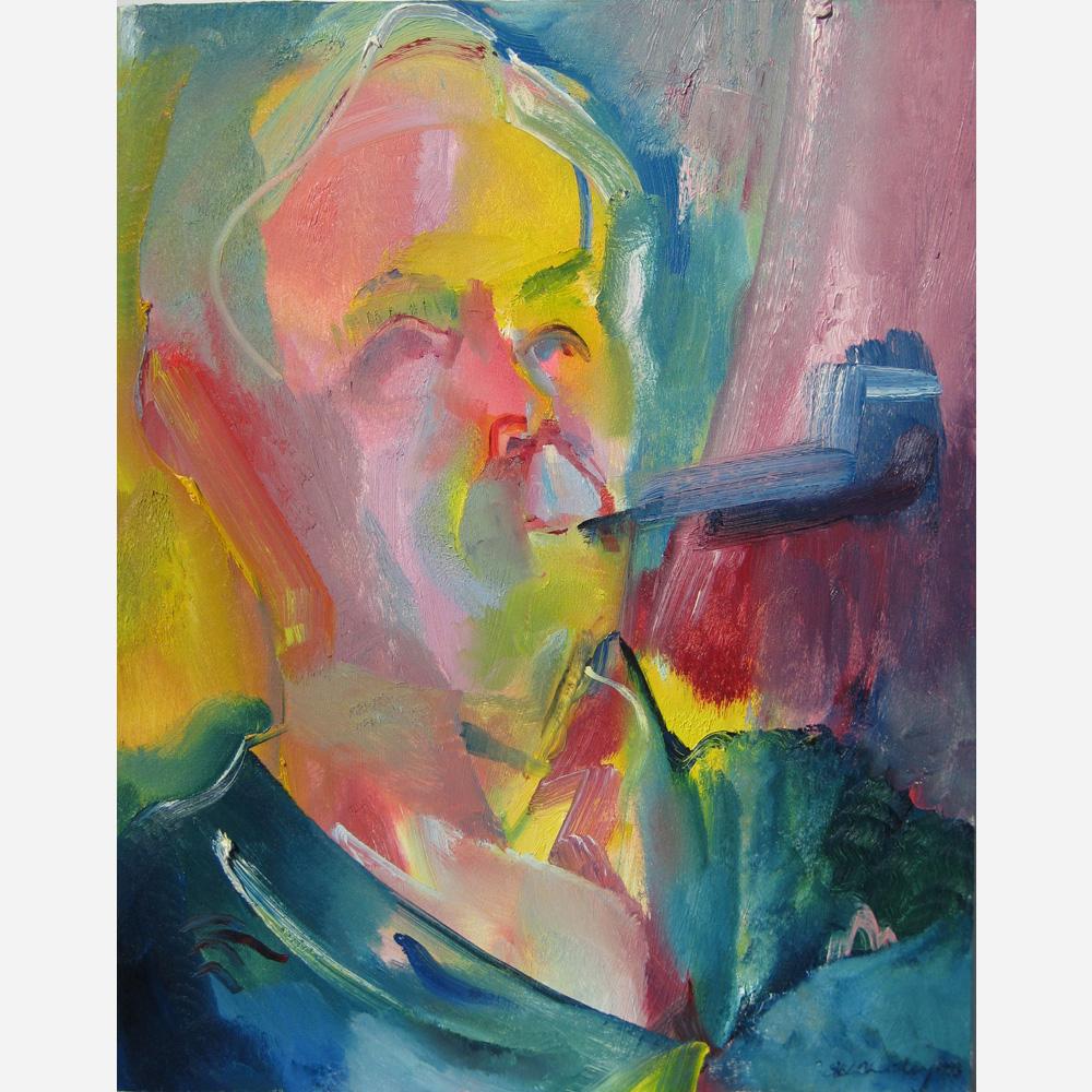 The Rt. Hon.Tony Benn 1993, by Stephen B. Whatley