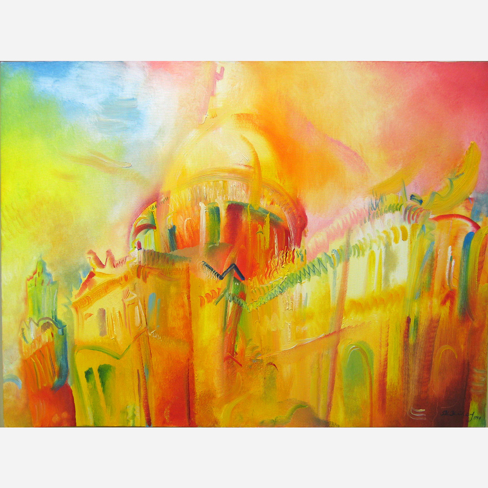 St Paul's Cathedral - Tercentenary Tribute. 1997 by Stephen B. Whatley