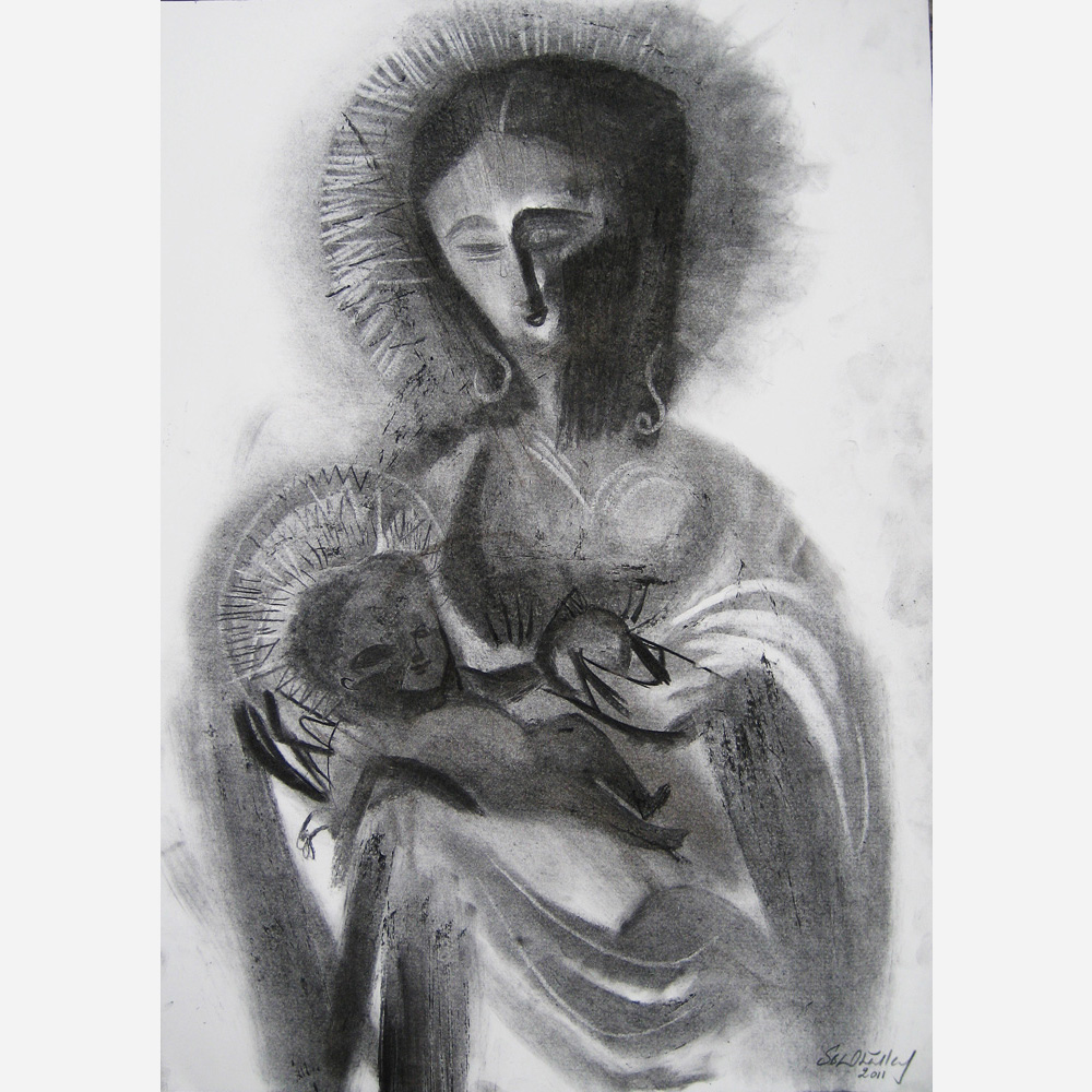 Our Lady of Grace - Madonna of Ipswich. 2011, by Stephen B. Whatley