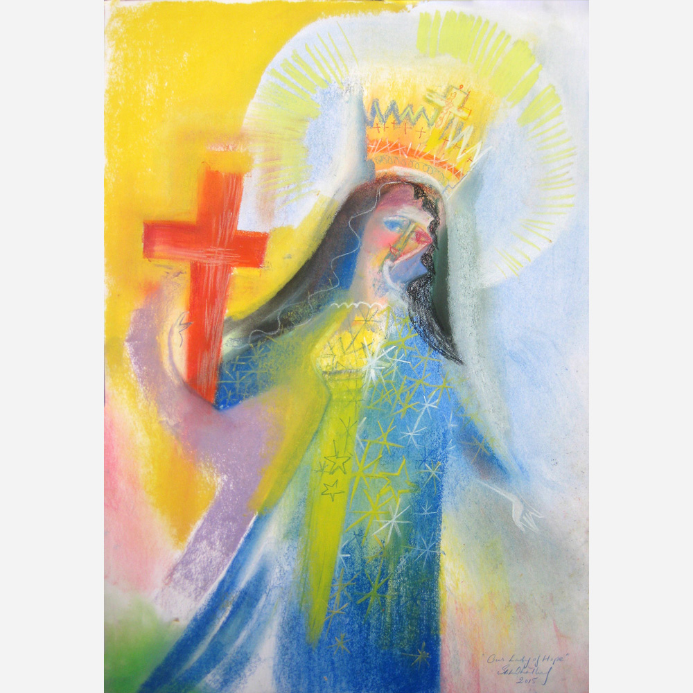 Our Lady of Hope. 2015, by Stephen B. Whatley
