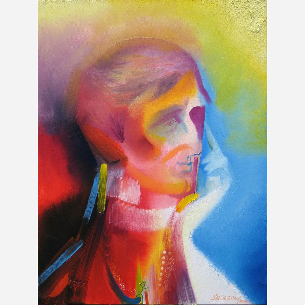 Saint John Henry Newman. 2010, by Stephen B. Whatley