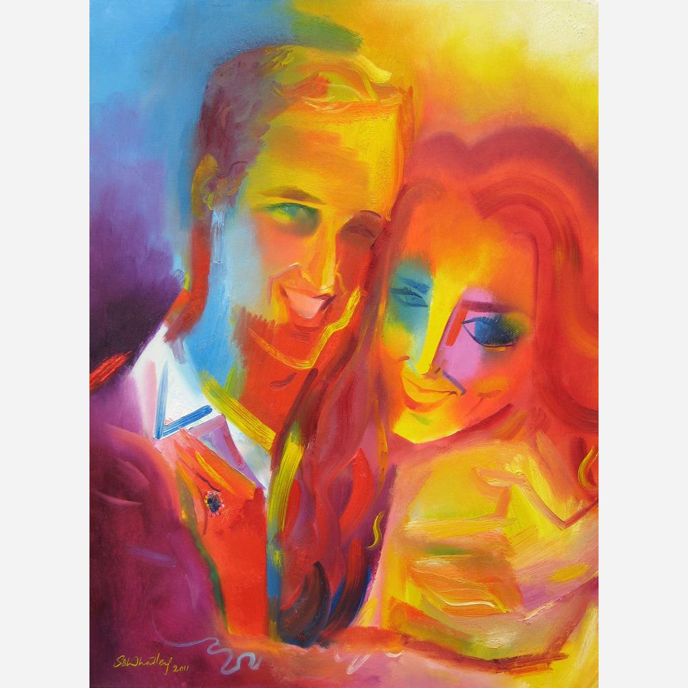 William & Kate - Tribute to Royal Love. 2011, by Stephen B. Whatley