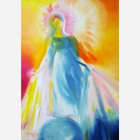 Our Lady of The Miraculous Medal. 2014, by Stephen B. whatley